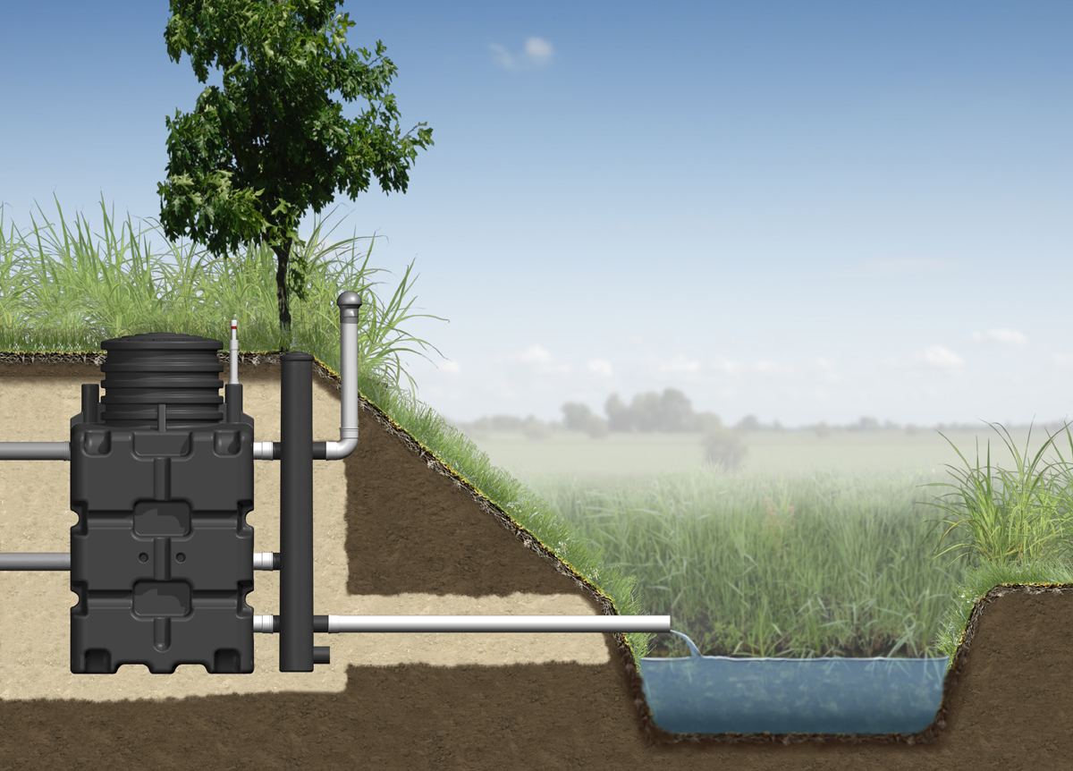 Biorock Wastewater Treatment Plant For 5 10 15 Person